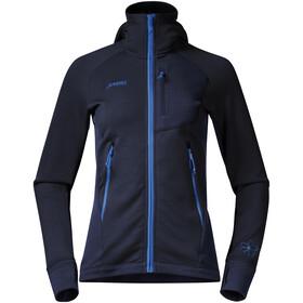 Bergans W's Cecilie Wool Jacket Navy/Cloud Blue